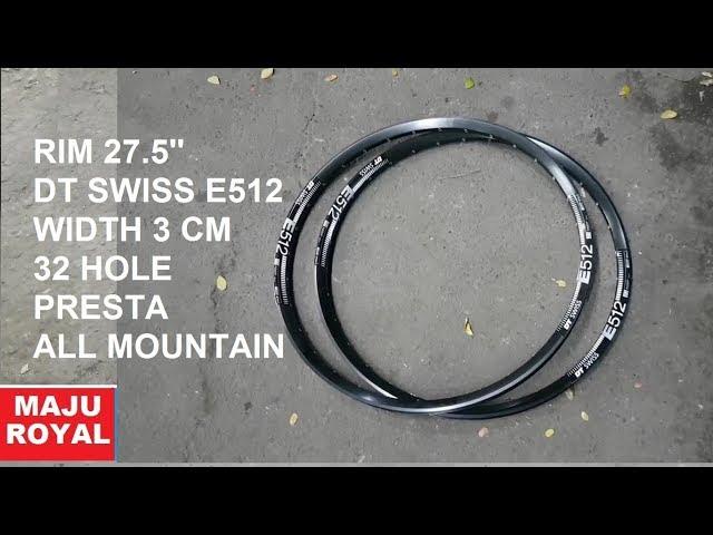 Видео Обод DT Swiss E 512 27x25 DISK BRAKE 32