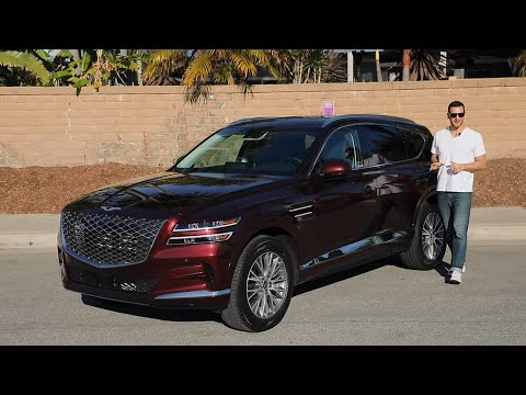 2021 Genesis GV80 Test Drive Video Review