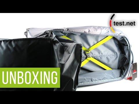 High Sierra Freelite Reisetasche mit Rollen   Unboxing