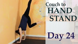 Couch to Handstand | DAY 24 - The kick up | The Art of Handbalancing
