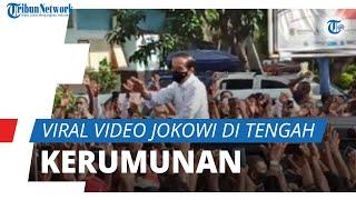Viral Video Jokowi Tampak di Kerumunan Warga NTT, Istana Berikan Klarifikasi: Hanya Sikap Spontan