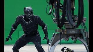 Съемки фильма Черная Пантера (2018) Behind the scenes Black Panther