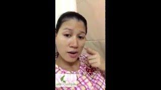 Người mẫu Trang Trần đánh giá dịch vụ Chăm sóc Mẹ và Bé Momcare24h