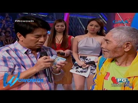 Wowowin: Willie Revillame helps a lone broke grandfather
