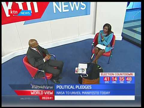 Political Pledges : Kevin Osido's view on the Jubilee's manifesto launched Monday