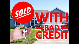 HOW WE BOUGHT A HOUSE WITH BAD CREDIT UNDER 90 DAYS   FHA LOAN 2020