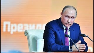 Ежегодная Большая пресс-конференция президента РФ Владимира Путина. Полное видео