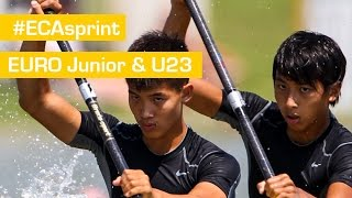 REPLAY: Sunday Finals | Bascov 2015 - Jr & U23 ECA Sprint Championships