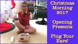 Christmas Morning 2017 - Did Santa Come? Opening Presents!