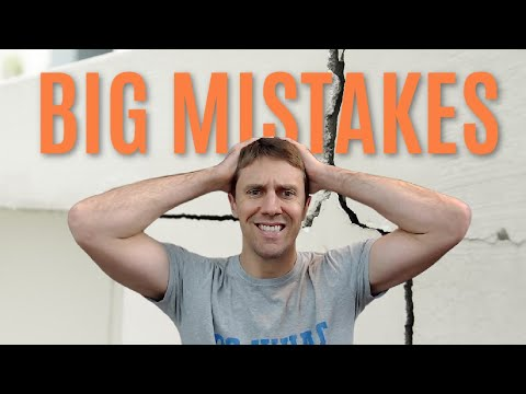 The Top 5 Mistakes I've Made When Buying an Investment Property