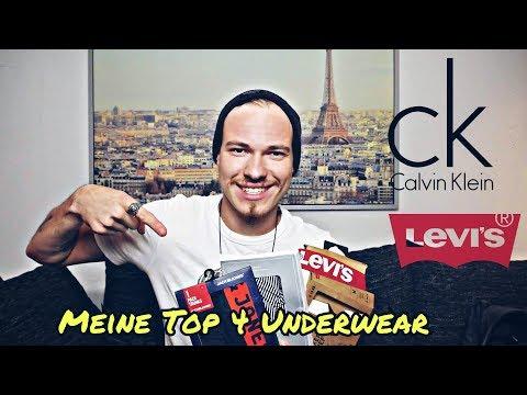 UNDERWEAR HAUL  | Hose runter ! - Meine Top 4 Levi´s Jack & Jones Mango Calvin Klein