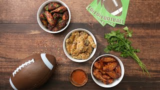 The 10 BEST Chicken Wings for Sunday Football | Tastemade Staff Picks by Tastemade