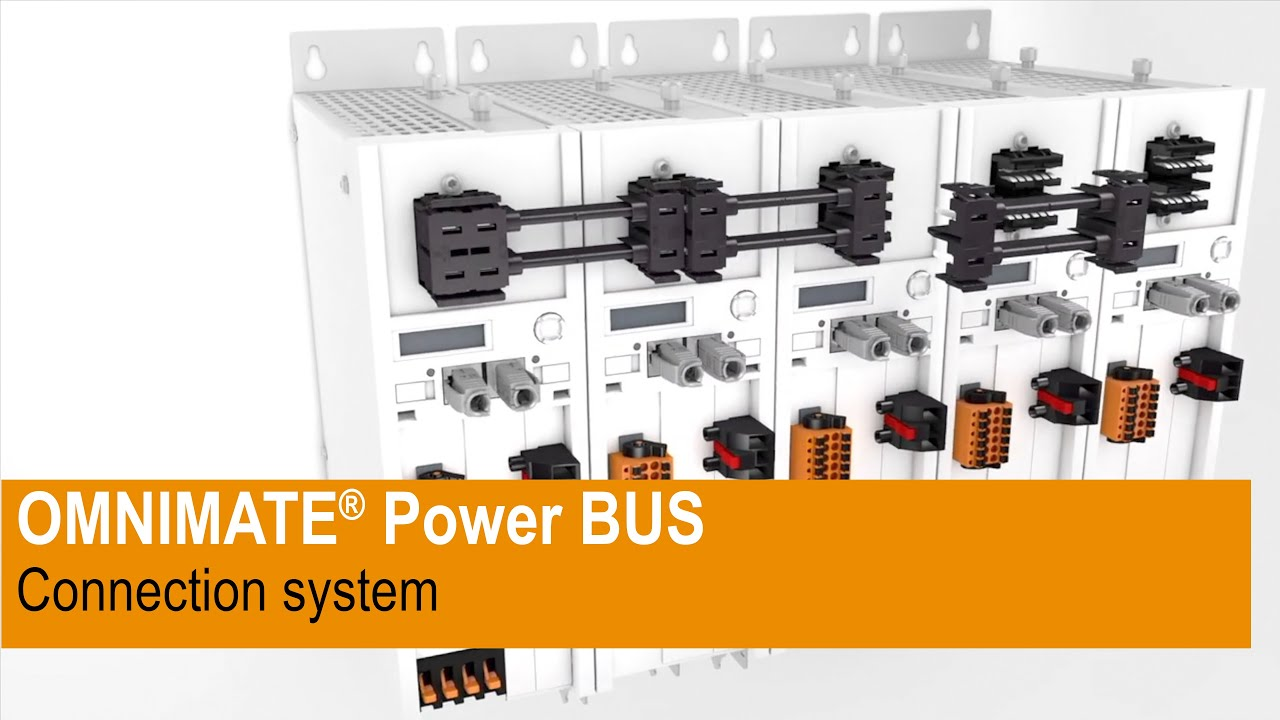 The OMNIMATE® Power BUS connection system
