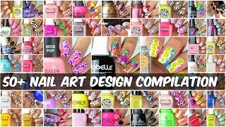 50 + Best Nail Art Designs Compilation | New Nail Art 2017 | Part 1