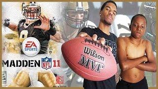 Madden 11 Gameplay Trent vs Juice - CAN JUICE BOUNCE BACK?!