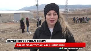 Beyşehir OSB'de fidan dikim etkinliği