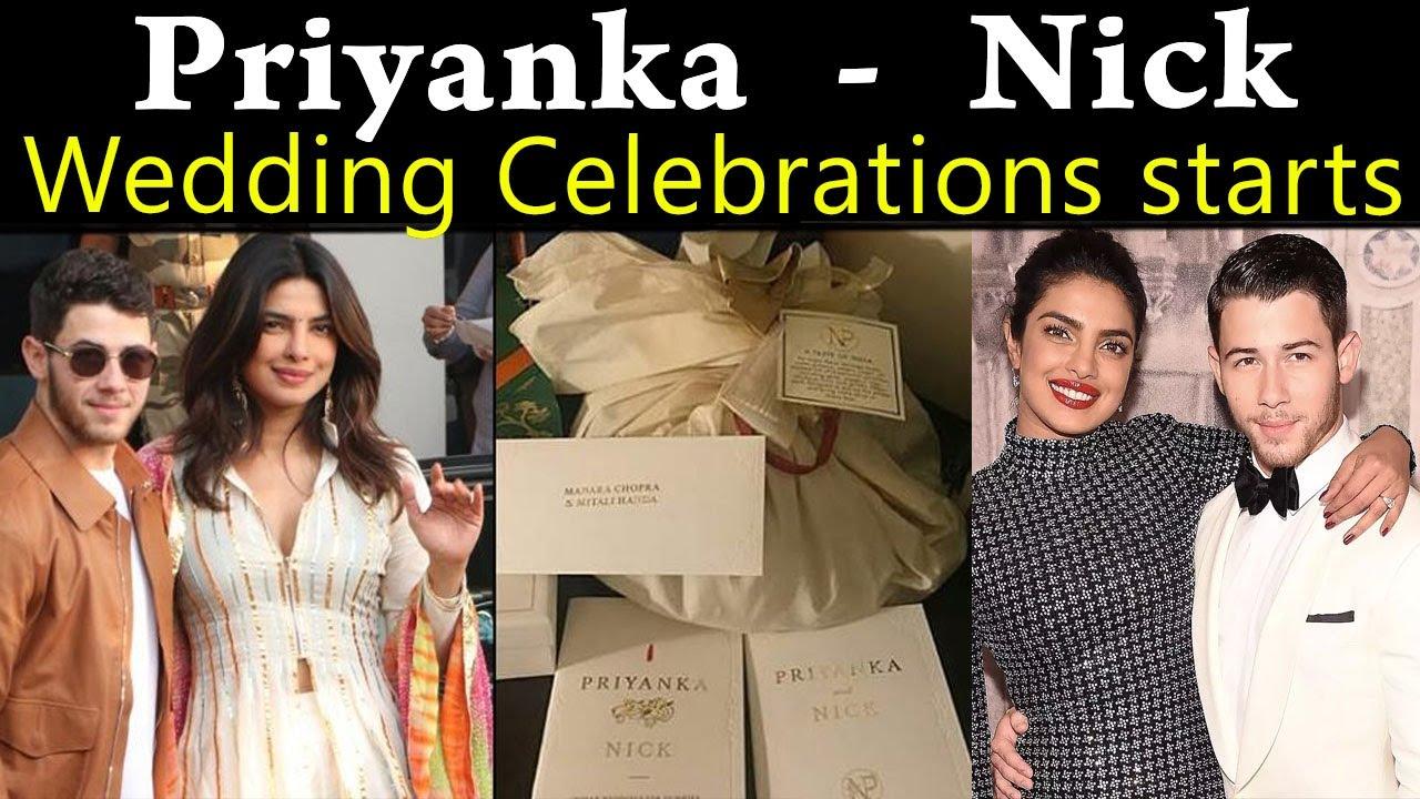 பிரியங்கா சோப்ரா, நிக் ஜோனாஸ் கல்யாண வீடியோ   Priyanka Nick Wedding