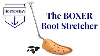 """How To Use The """"Boxer"""" Boot Stretcher By HOUNDSBAY"""