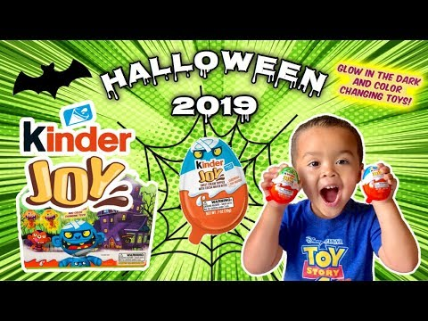 Halloween 2019 Kinder Joy