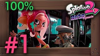 Splatoon 2 - Octo Expansion: 100% Walkthrough Part 1 - All Line A Missions | Switch Gameplay - dooclip.me