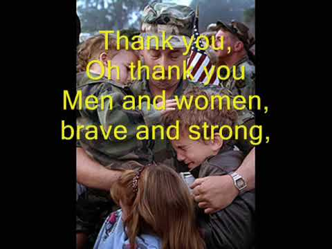 Thank You Soldiers - Veteran's Day/Memorial Day Song