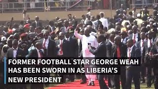 Liberia's new president George Weah praises UN contribution