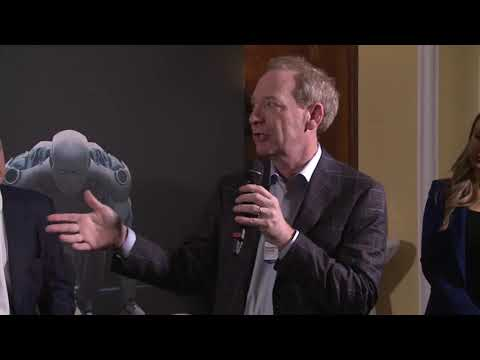 WISeKey DAVOS 2019: Brad Smith, Microsoft's president and chief legal officer.