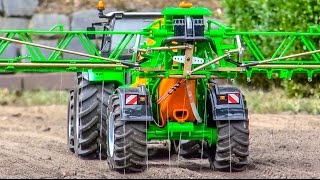 RC Tractors Working Hard! Claas, Fendt & More In Action!
