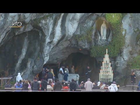Chapelet à Lourdes du 31 décembre 2019