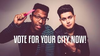 Performing LIVE in YOUR city! VOTE NOW!