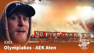 Destination Europa: Olympiakos   AEK Aten (S3E3)
