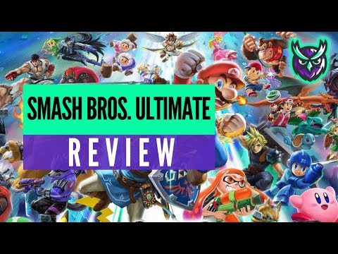 Super Smash Bros. Ultimate Switch Review (The BEST Smash?) video thumbnail