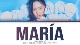 """Hwa Sa (화사)- """"Maria (마리아)""""(Color Coded Lyrics Eng/Rom/Han/가사)"""