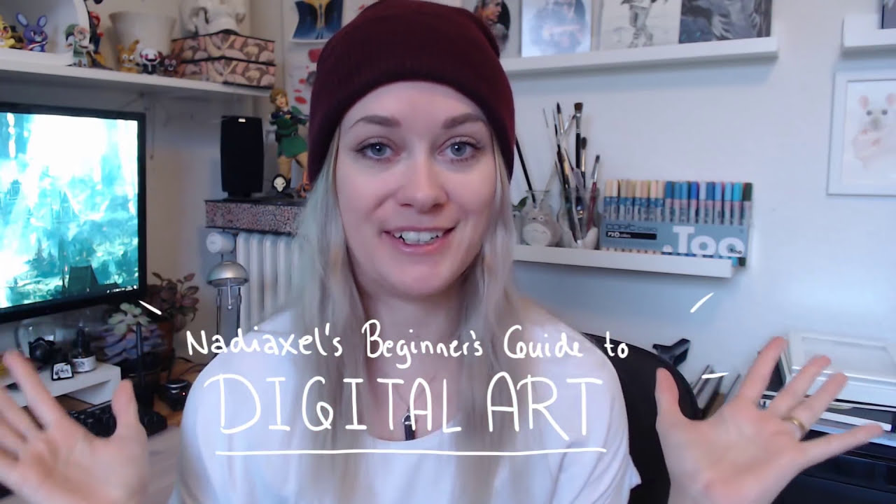 digital art tips and tricks for beginners by nadiaxel