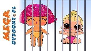 LOL Surprise & Shopkins • Siostrzyczki w więzieniu • bajki po polsku