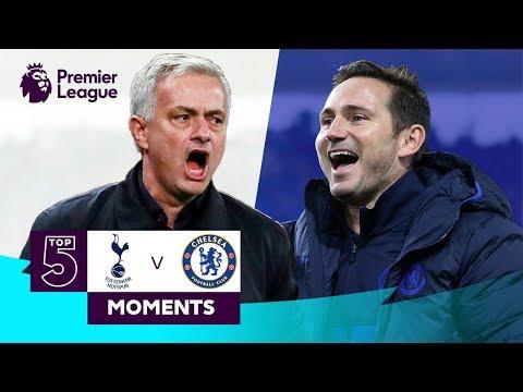 Spurs v Chelsea | Top 5 Premier League Moments | Kane Hazard Mourinho