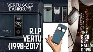 Vertu: A luxury empire collapses| British Phone-maker goes bankrupt|