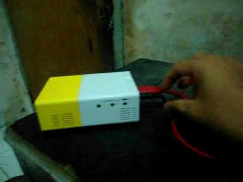 Setting LED Projector Dengan Laptop Mp3