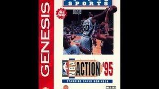 NBA Action '95 (Sega Genesis)