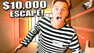 10,000 Box Fort Prison Escape Challenge (Spy Gadgets and More!!)