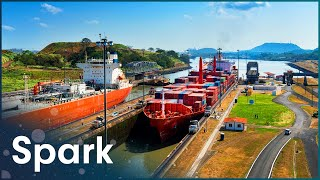 The Truth Behind The Panama Canal | Super Structures | Spark