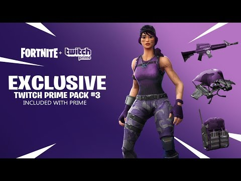 Rumor Possivel Pacote do Fortnite no Twitch Prime