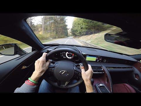 Lexus  Lc 500h Купе класса A - тест-драйв 1