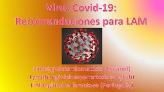 Covid-19: Recomendaciones para pacientes con LAM – Linfangioleiomiomatosis