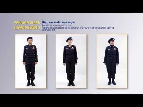 Perlengkapan Penunjang Tugas DJBC - seragam dinas