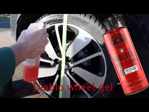 Diablo Wheel gel from Chemical guys tested on Filthy rims!!!
