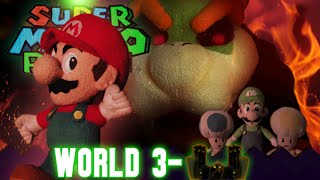 Super Mario Plush World 3-Castle