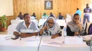 COMORES - Mise en place de la Plateforme de veille des femmes et des jeunes pour des élections apaisées et crédibles