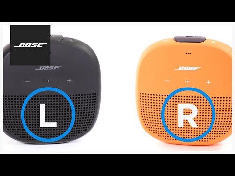 Bose SoundLink Micro - Party and Stereo Modes