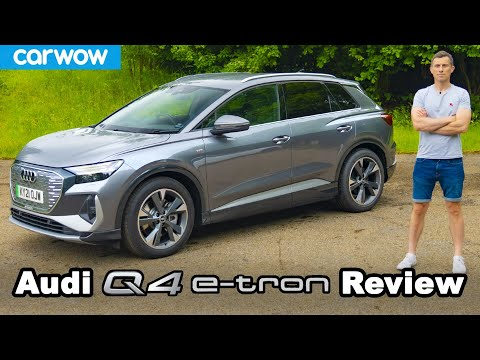 Audi Q4 e-tron 2021 review - see why it's the best electric SUV!